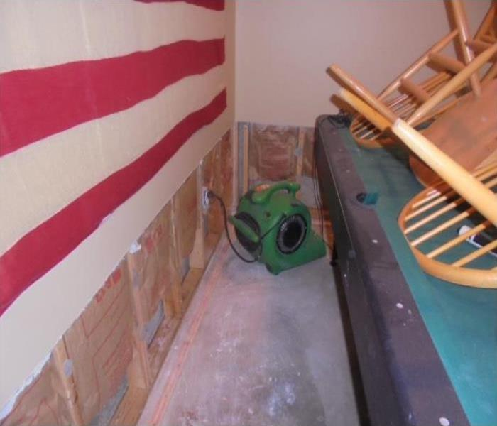 Water Damage Repair And Restoration In Valparaiso Before