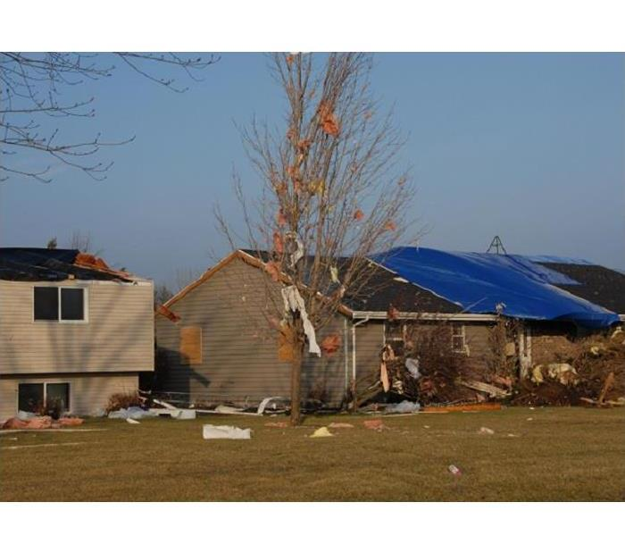 Storm Damage Wind Damage to Your Valparaiso Home?  Call SERVPRO!