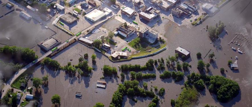 Valparaiso, IN commercial storm cleanup